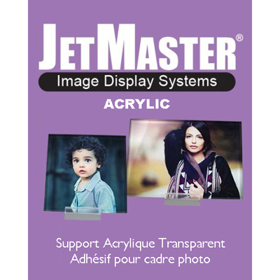 <b>JMA-149-0406</b>-JetMaster Acrylic - Transparency Adhesive Panel<br>Size : 1015 (102x152mm)