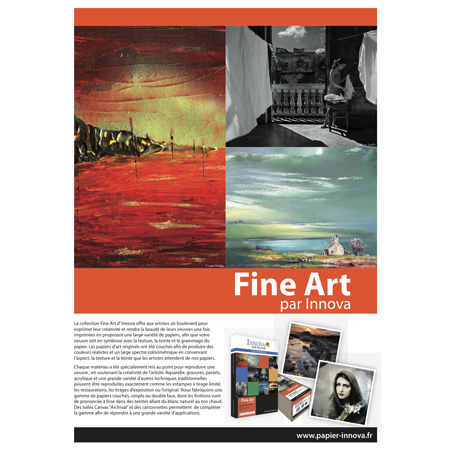 <b>IFAPO1</b> - Sample Pack FINE ART RANGE<br>Size : A4 (11 sheets)